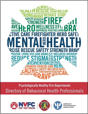 NVFC Releases Behavioral Healthcare Provider Directory for Emergency Responders