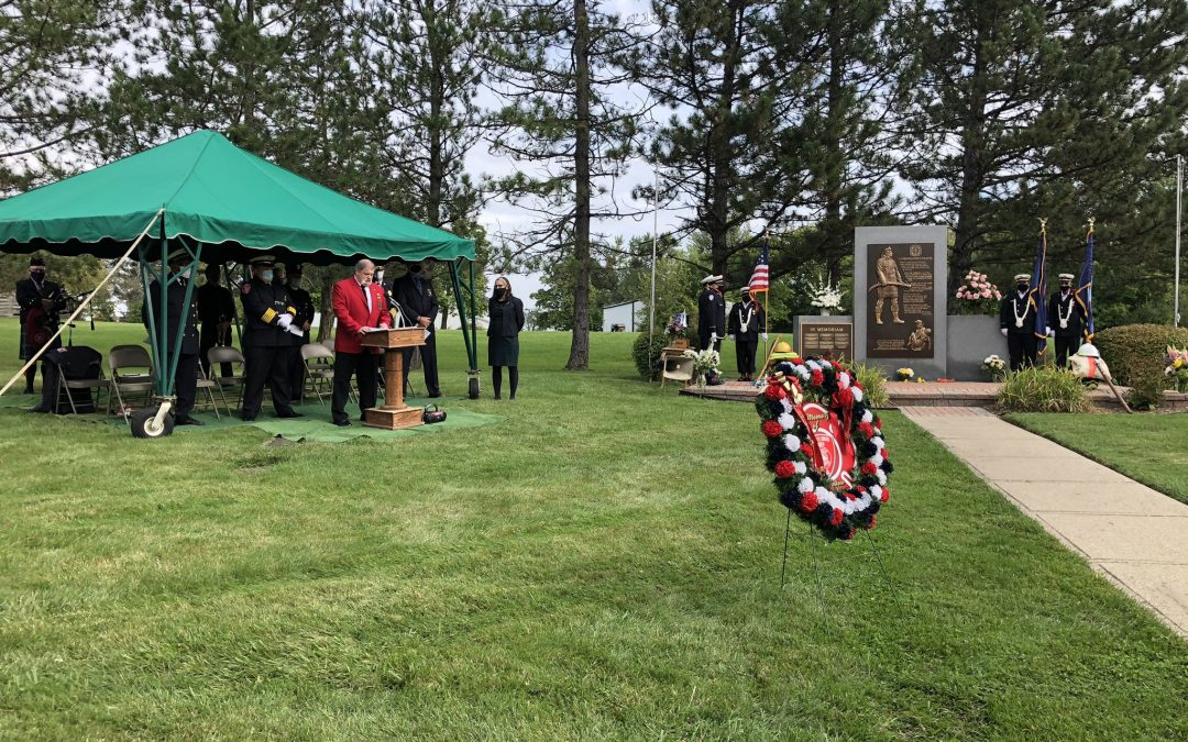 24th Annual Genesee County Association of Fire Chief's Memorial Ceremony